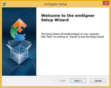 starting docSigner installation